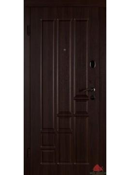 Входные двери Титан темный орех