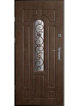 Входные двери модель УД-217 с ковкой