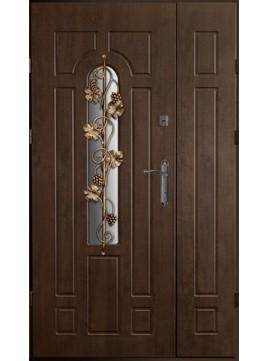 Входные двери модель УД-217 ковка Виноград