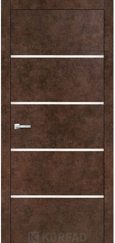 Межкомнатные двери ALUMINIUM LOFT PLATO-05