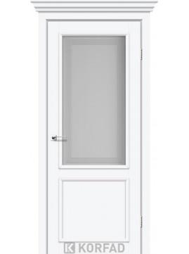 Межкомнатные двери CLASSICO-02 белый перламутр