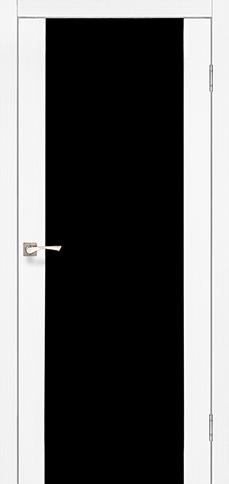 Межкомнатные двери SANREMO-01 еш-вайт BLK