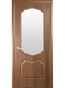 Межкомнатные двери ВЕНЗЕЛЬ со стеклом сатин