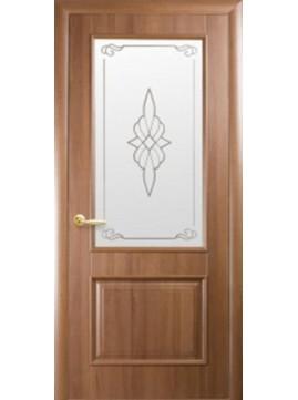 Межкомнатные двери ВИЛЛА со стеклом сатин