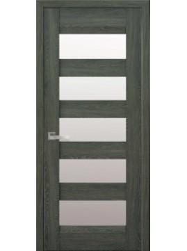 Межкомнатные двери BRONX со стеклом сатин
