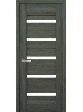 Межкомнатные двери LIRA со стеклом сатин