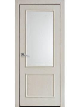 Межкомнатные двери Вилла стекло сатин Р1