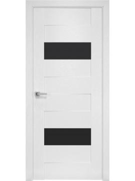 Межкомнатные двери ЖЕНЕВА черное стекло