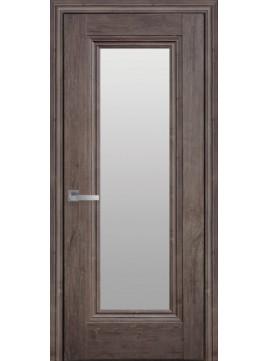 Межкомнатные двери МИЛА со стеклом сатин