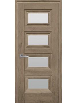 Межкомнатные двери ТЕССА со стеклом сатин