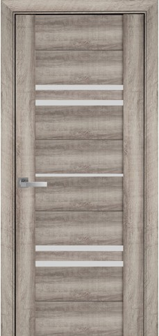 Межкомнатные двери МЕРИДА со стеклом сатин