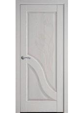 Межкомнатные двери АМАТА со стеклом сатин и рисунком P1