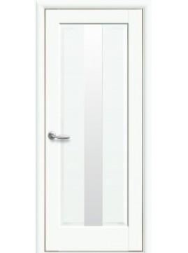 Міжкімнатні двері ПРЕМ'ЄРА зі склом сатин