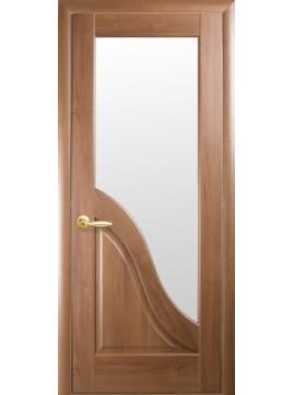 Межкомнатные двери АМАТА со стеклом сатин