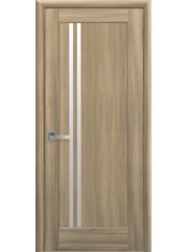 Міжкімнатні двері ДЕЛЛА зі склом сатин