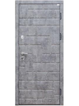 Входные двери КИРПИЧИКИ ПВХ-Мрамор