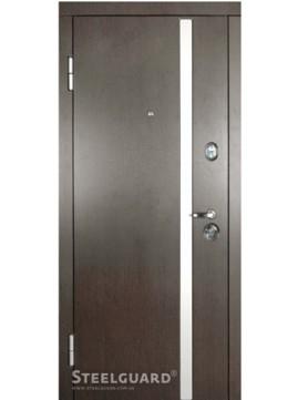 Входные двери Steelguard AV-1 Венге тем./бел.