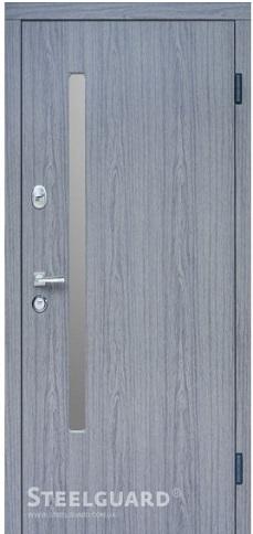 Входные двери Steelguard AV-1 Grey Glass