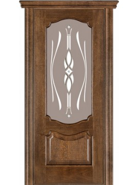 Межкомнатные двери модель 41 со стеклом