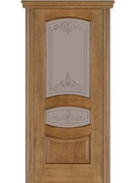 Межкомнатные двери модель 50 со стеклом